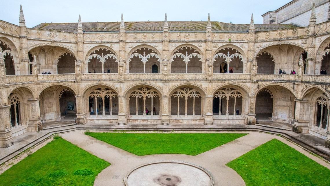 Klasztor Jerónimos Belem Lizbona